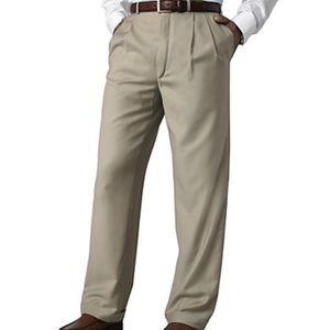 NWT Tan Ralph Lauren pleated dress pants